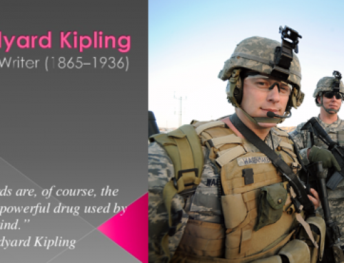What Mr Kipling and the US Military taught me.