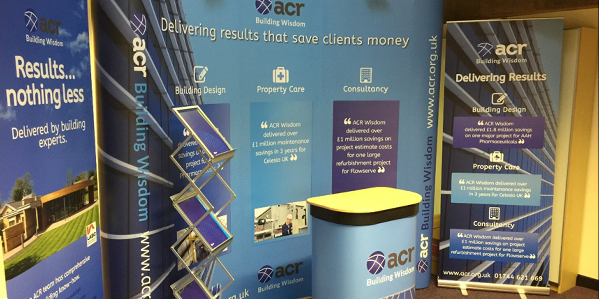 Exhibition Stand Builders North West : Expo design drives building wisdom for acr regenic